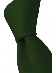 Plain Microfiber Tie Grass Green