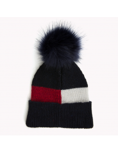 LUXURY COLORBLOCK BEANIE