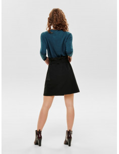 JDYJULIE CHECKED HW WRAP SKIRT WVN FS