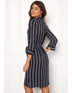 Thea shirt dress Striped
