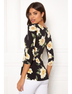 Becca top Patterned / Black