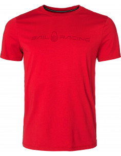 BOWMAN TEE Bright red