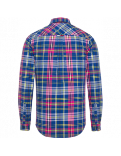 TJM ESSENTIAL BIG CHECK SHIRT Limoges