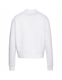 TJW SIDE SEAM DETAIL CREW Classic white