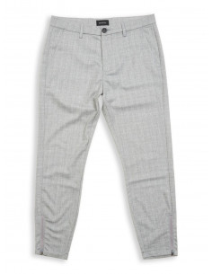 Philip pant cross Lt grey