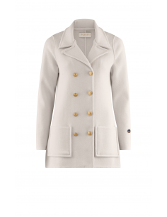 Victoria Jacket Foam white