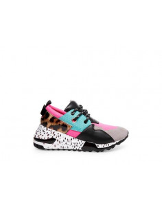 Cliff sneaker Bright multi