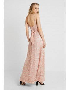 VIMASH MAXI DRESS/ZA Rose Smoke
