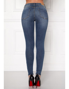 Miranda push-up jeans medium blue