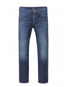 Lee® Rider Regular Waist Slim Leg Hudson Blue
