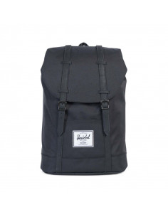Retreat Black/Black Synthetic Leather