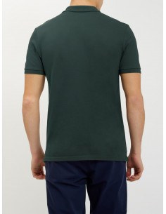 Plain Polo Shirt Forest Green