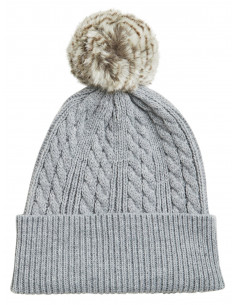 VIFARI KNIT HAT Light Grey Melange
