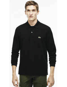 Lacoste Long-sleeve Polo Black