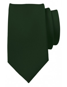 Brandon Plain Silk Tie Grass Green