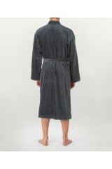 MEN Bathrobe Anthrazit