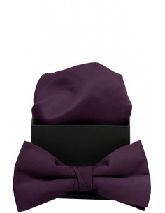 Plain Bowtie Purple