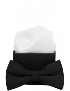 Plain Bowtie Black