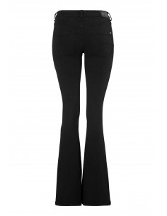 Tove Flared Superstretch Black