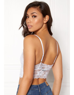 Katie lace top White