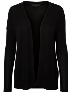 VMLOUGHTON  L/S CARDIGAN TOP D2-3 Black