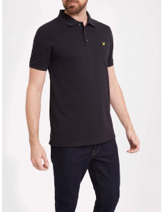 Plain Polo Shirt True Black