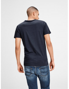 BASIC O-NECK TEE S/S NOOS NAVY BLUE