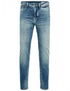 SHNSLIM-LEON 6111 M. BLUE ST JEANS NOOS Medium Blue Denim