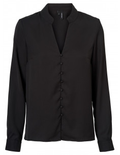 VMZOEY L/S BUTTON SHIRT SB6 Black