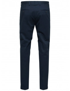 SLH MATHCOT SLIM FIT NAVY TROUSER