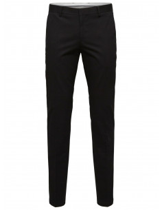SLHSLIM-MATHCOT BLACK TROUSER NOOS Black