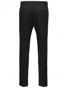 SLH MATHCOT BLACK SLIM FIT TROUSER