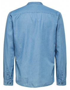 SHDTWOTEN SHIRT LS SOLID Light Blue