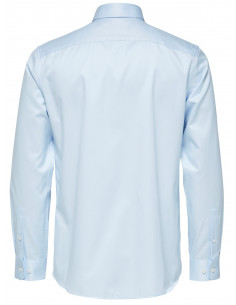 SLHREGSEL-PELLE SHIRT LS B NOOS Light Blue