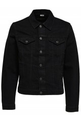SHXJEFFREY BLACK DENIM JACKET Black