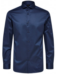 SLHREGSEL-PELLE SHIRT LS B NOOS Insignia Blue