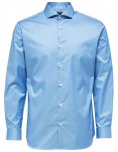 SLHREGSEL-PELLE SHIRT LS B NOOS Skyway