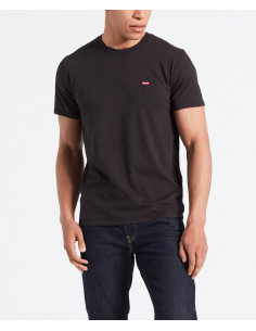 SS ORIGINAL HM TEE COTTON + PATCH BLACK