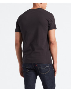 Levi's SS ORIGINAL HM TEE COTTON + PATCH BLACK