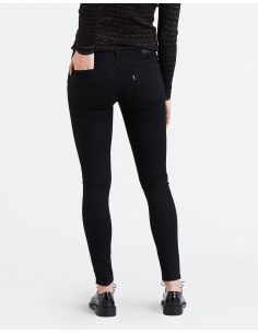 Levi's INNOVATION SUPER SKINNY BLACK GALAXY