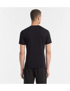 Calvin S/S Crew Neck T-Shirt Black W/Logo