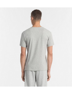 Calvin S/S Crew Neck T-Shirt Grey Heather W/Logo