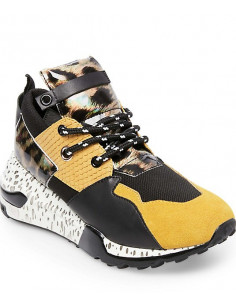 Cliff Sneaker Yellow Multi